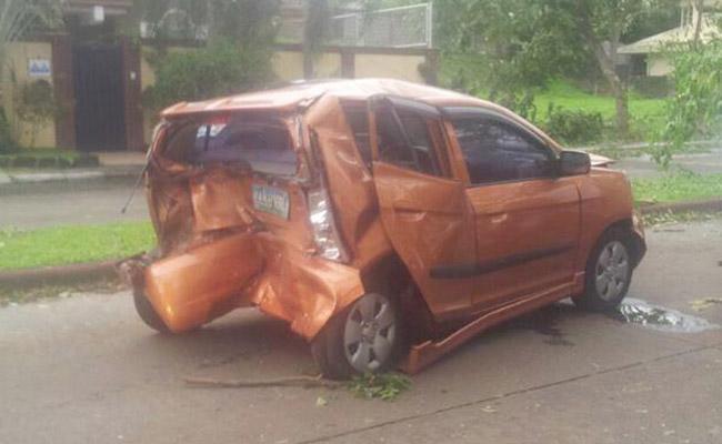 Alabang Hills accident (July 16, 2014)