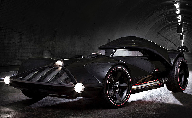 TopGear.com.ph Philippine Car News - Hot Wheels builds Darth Vader-inpsired car for San Diego Comic Con