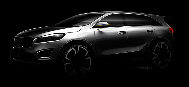 TopGear.com.ph Philippine Car News - Kia shares design study of next-generation Sorento SUV