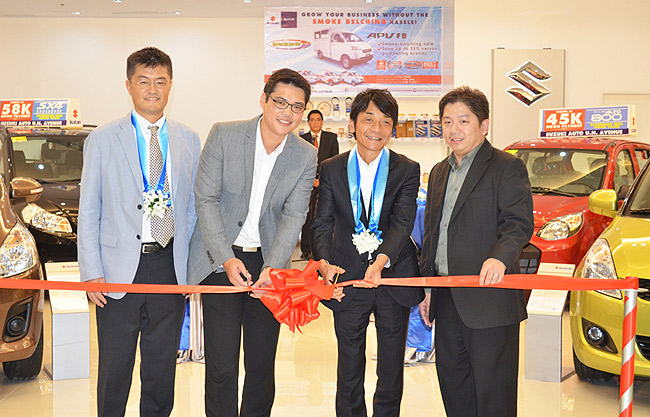 Suzuki Philippines opens satellite showroom in SM San Lazaro