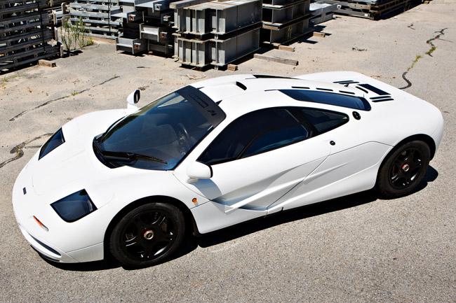 McLaren F1 Marlboro White