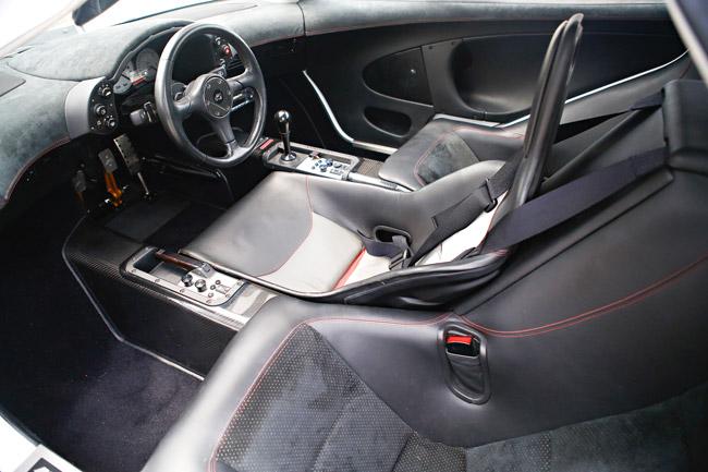 McLaren F1 cabin