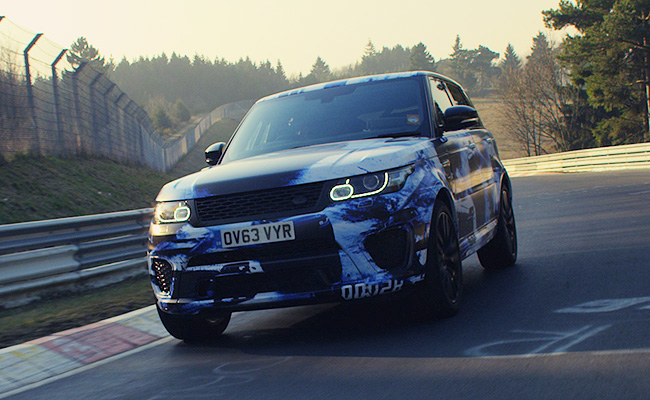 TopGear.com.ph Philippine Car News - Range Rover Sport SVR laps Nurburgring at just over 8 minutes