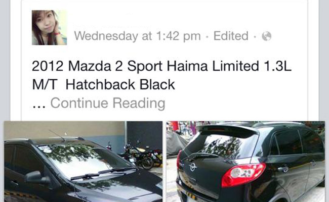 TopGear.com.ph Philippine Car News - Mazda PH warns sellers of Haima vehicles