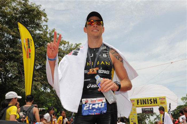 F1 champion Jenson Button snags a podium place at Cebu Ironman 70.3