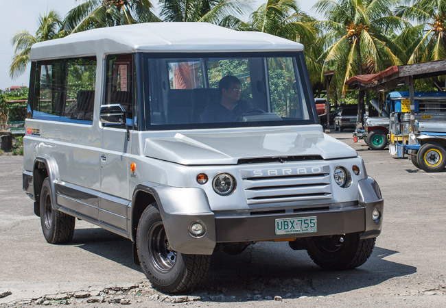 Exclusive Sarao Scion Designs Modern Jeepney For School