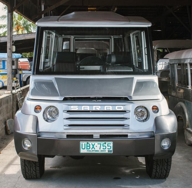 Exclusive: Sarao scion designs modern jeepney for school ...
