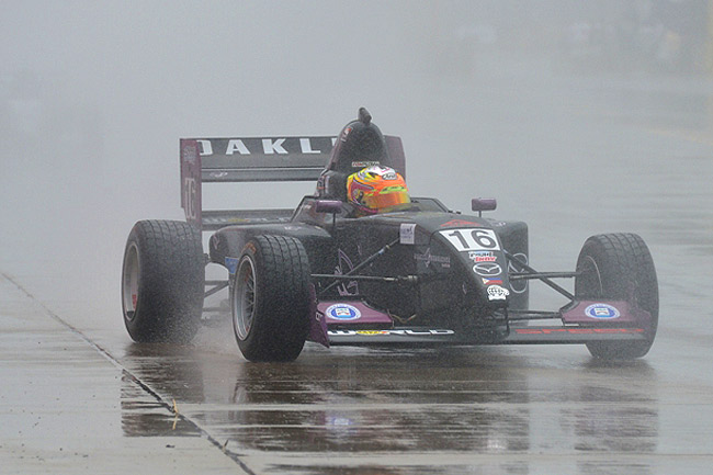 Racing in two very different conditions during one weekend