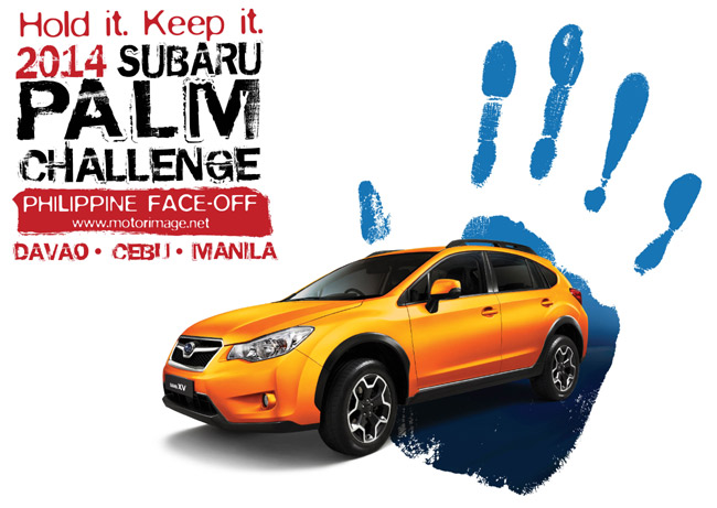 Who wants to win a XV 2.0i crossover? Join the Subaru Palm Challenge