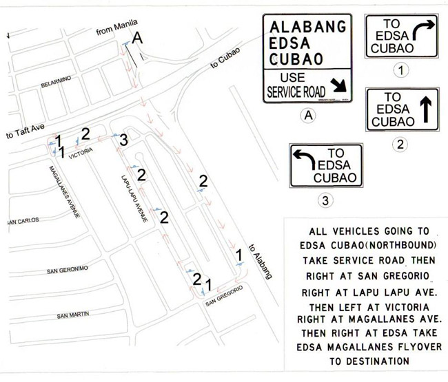 TopGear.com.ph Philippine Car News - MMDA releases alternate routes for Magallanes flyover closure