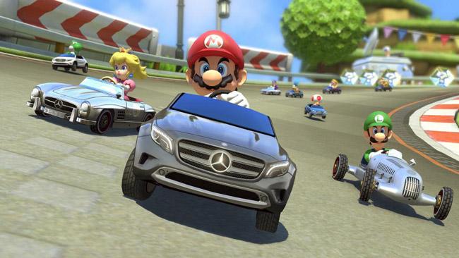 Mercedes-Benz Mario Kart 8