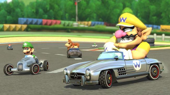 Mercedes-Benz Mario Kart