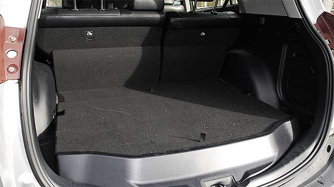 Toyota RAV4 4x4's interior