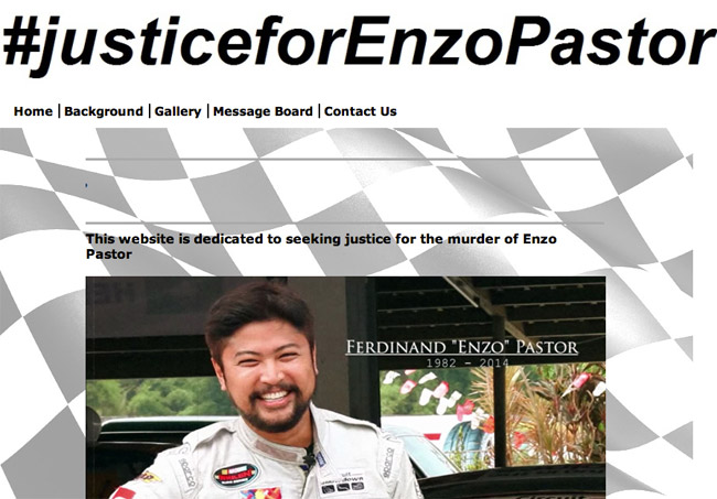 Justice for Enzo Pastor