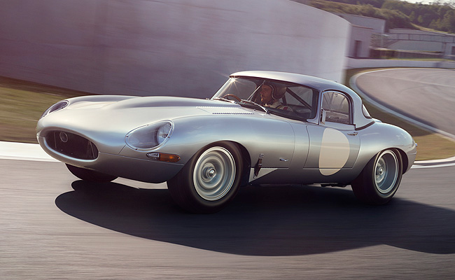 TopGear.com.ph Philippine Car News - Jaguar unveils continuation of Lightweight E-Type