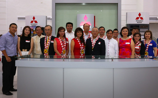 Mitsubishi inaugurates new dealership in Laoag City