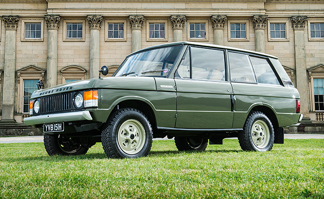 TopGear.com.ph Philippine Car News - Very first Range Rover to be auctioned off