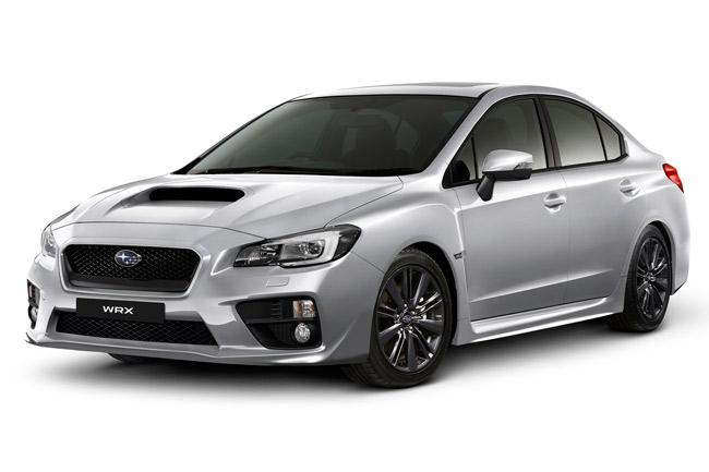 Subaru WRX manual