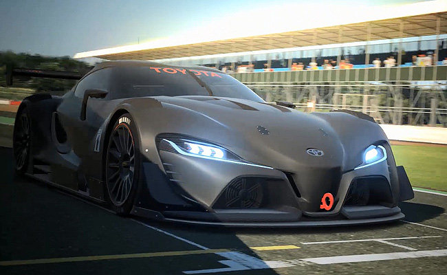 TopGear.com.ph Philippine Car News - Toyota officially reveals FT-1 Vision Gran Turismo concept