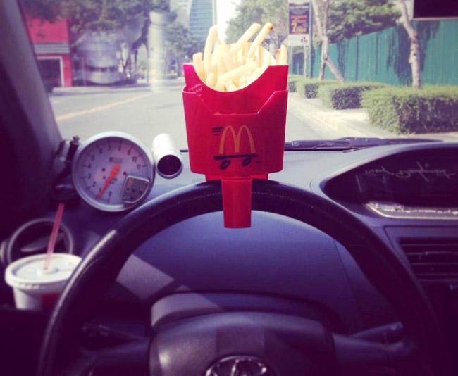 McDonald's Fry Holder