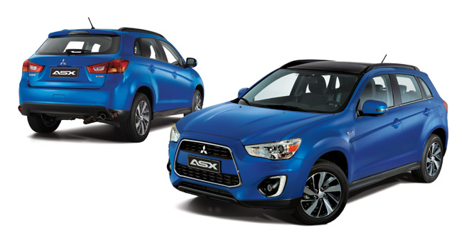 Say hello to the 2015 Mitsubishi ASX
