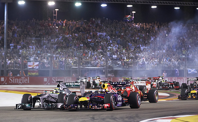 TopGear.com.ph Philippine Car News - Singapore Tourism Board launches promotion for 2014 F 1 race