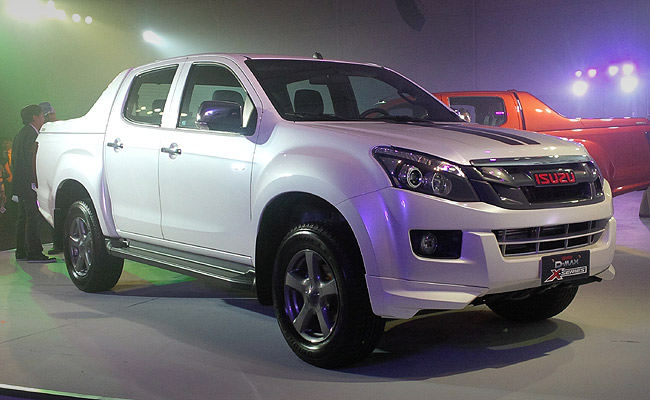 Isuzu Philippines launches the D-Max X-Series variant for the 'young and active' millennials