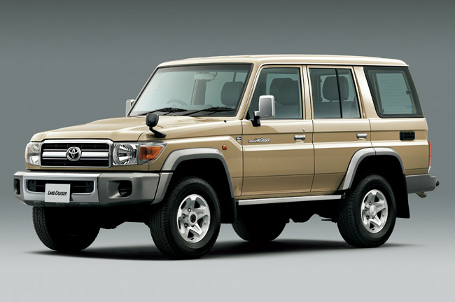 Toyota Land Cruiser 70 special edition