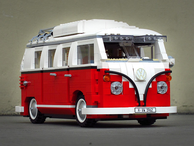 Lego project: Volkswagen Camper (Part 4)