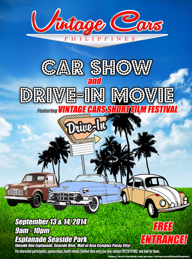 Love classic cars? Join the fun with Vintage Cars Philippines on September 13-14