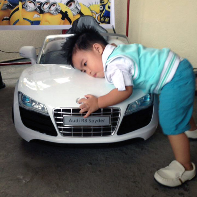 Kids and cars