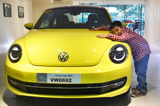VW Beetle winner