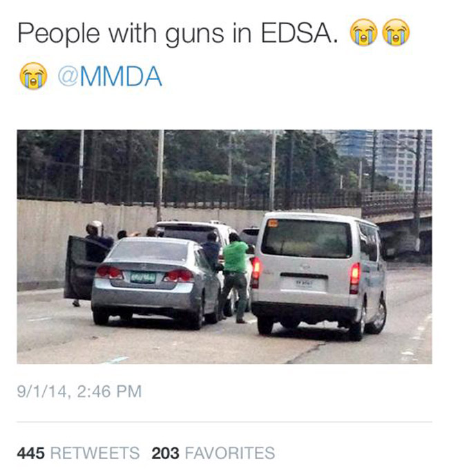 Report: Suspect in viral EDSA photo arrested, according to DILG