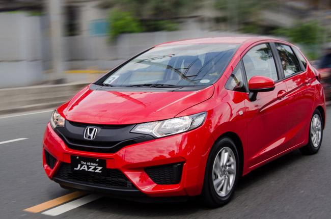 Honda Jazz drive