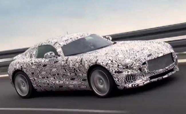 TopGear.com.ph Philippine Car News - Video: Mercedes-AMG teases its upcoming GT supercar