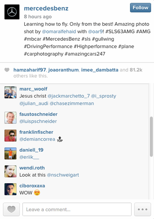 Mercedes-Benz on Instagram