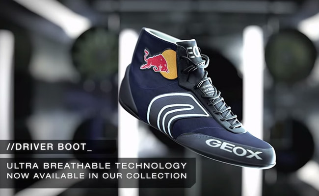 b7f9c5fea6 Video: Infiniti Red Bull drivers have fun giving away Geox shoes