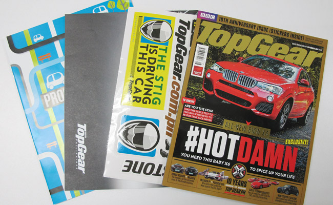 Top Gear Philippines 10th Anniversary pack