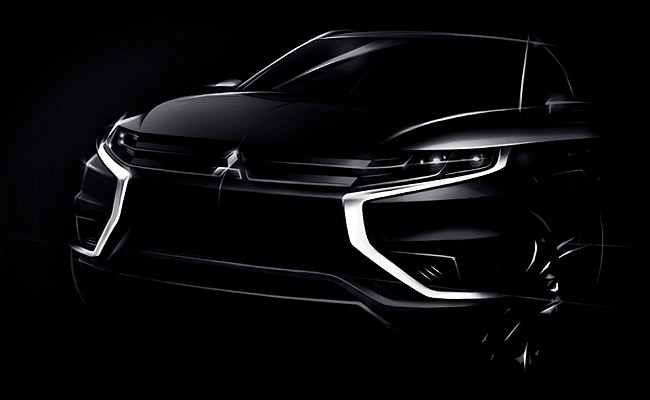 TopGear.com.ph Philippine Car News - Updated Mitsubishi Outlander concept to debut at Paris Motor Show