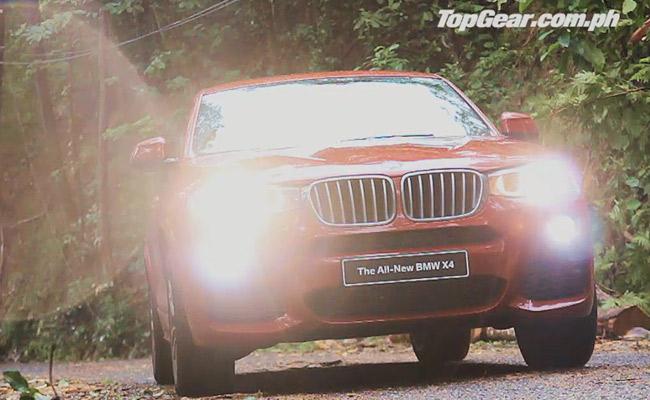 BMW X4 video