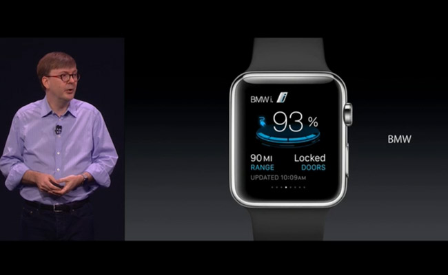 Apple Watch - BMW