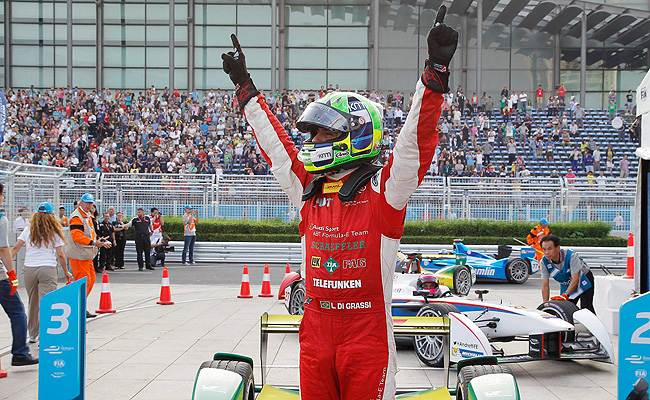 TopGear.com.ph Philippine Car News - Lucas di Grassi is first-ever Formula E ePrix winner