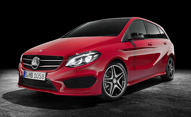 TopGear.com.ph Philippine Car News - Updated Mercedes-Benz B-Class makes its bow
