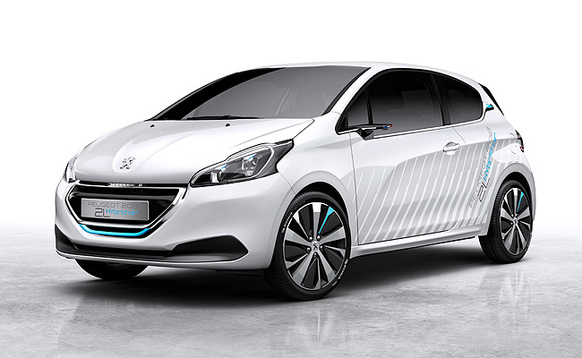 TopGear.com.ph Philippine Car News - Peugeot has a different kind of hybrid for the Paris Motor Show