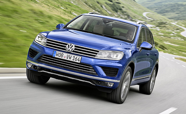 TopGear.com.ph Philippine Car News - Volkswagen Touareg gets updated