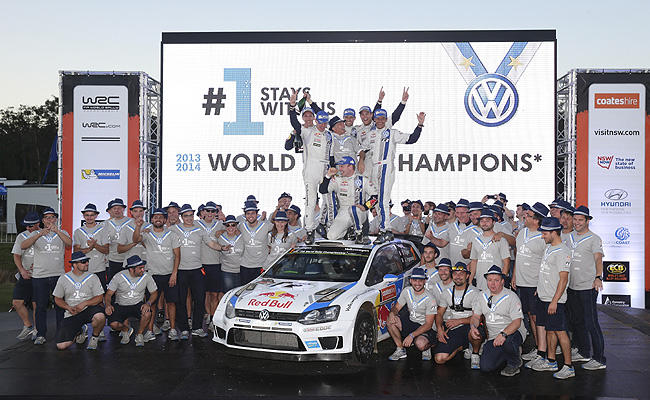 TopGear.com.ph Philippine Car News - Volkswagen wraps up second straight WRC manufacturer's title