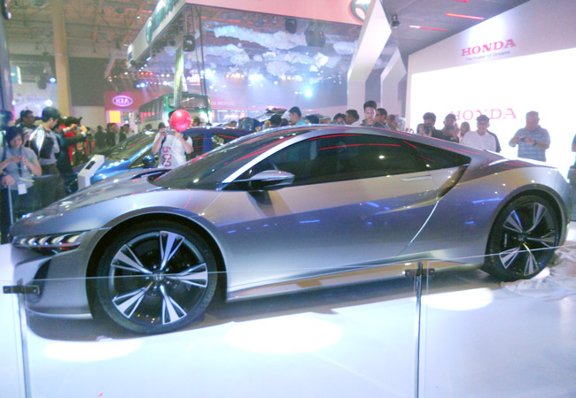 Honda NSX concept at Philippine International Motor Show