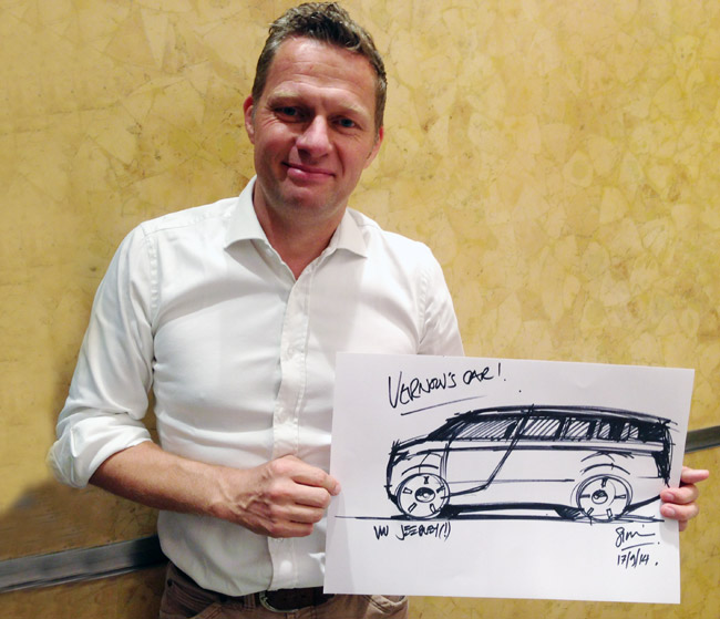 Volkswagen Group China design director Simon Loasby