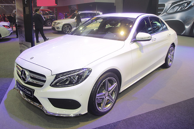 Mercedes-Benz C-Class at PIMS