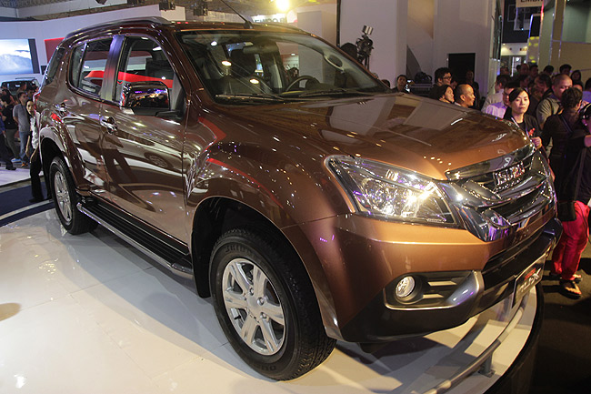 Isuzu MU-X at PIMS